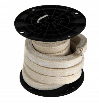 Phelps Style 3010 - Ramie Braided Compression Packing with PTFE Suspensoid, Marine Braided Packing