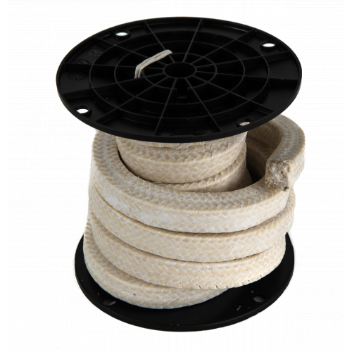 Phelps Style 3010 - Ramie PTFE Braided Compression Packing with PTFE Suspensoid, Marine Braided Packing