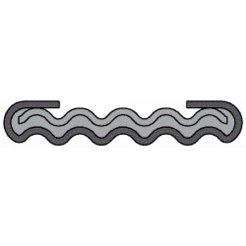 Phelps Style 9323 - Double Jacketed Corrugated Metal Gaskets