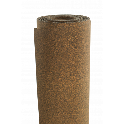 Phelps Style 7551 - Cork and NBR/SBR Rubber Roll, anti-vibration, noise isolation