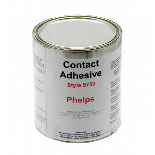Phelps Style 9750 - Contact Cement, Industrial Grade Adhesive