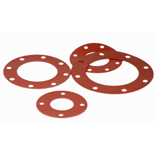 Phelps Style 7237 - Full Face Red Rubber Gaskets